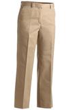 Women's Flat Front Pant Khaki Thumbnail