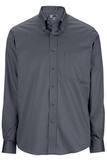 Redwood & Ross Men's No-iron Pinpoint Oxford Button Down Dress Shirt Charcoal Thumbnail