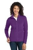 Women's Microfleece Jacket Amethyst Purple Thumbnail
