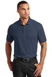 Tall Core Classic Pique Polo River Blue Navy Thumbnail