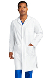 WonderWink Men's Long Lab Coat White Thumbnail