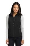 Women's Core Soft Shell Vest Black Thumbnail