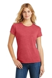 Women's Made Perfect Tri Crew Tee Red Frost Thumbnail