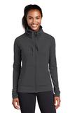 Women's Sport-wick Stretch Full-zip Jacket Charcoal Grey Thumbnail
