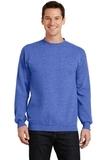 7.8-oz Crewneck Sweatshirt Heather Royal Thumbnail