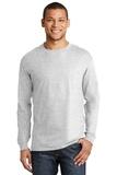 Beefy-t 100 Cotton Long Sleeve T-shirt Ash Thumbnail