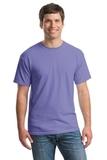 Heavy Cotton 100 Cotton T-shirt Violet Thumbnail