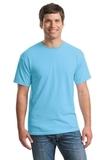 Heavy Cotton 100 Cotton T-shirt Sky Thumbnail