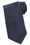 Men's Circles And Dots Tie Navy Thumbnail