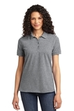 Women's 50/50 Pique Polo Athletic Heather Thumbnail
