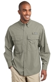 Eddie Bauer Long Sleeve Fishing Shirt Driftwood Thumbnail