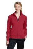 Women's Sport-Wick Fleece Full-Zip Jacket Deep Red Thumbnail