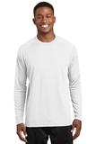 Dry Zone Long Sleeve Raglan T-shirt White Thumbnail
