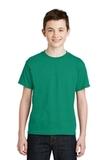Youth Ultra Blend 50/50 Cotton / Poly T-shirt Kelly Green Thumbnail