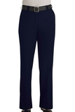 Women's Flat Front 100 Polyester Security Pants Dark Navy Thumbnail