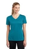 Women's V-neck Competitor Tee Tropic Blue Thumbnail