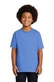 Youth Ultra Cotton 100 Cotton T-shirt Carolina Blue Thumbnail