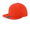 New Era Original Fit Diamond Era Flat Bill Snapback Cap Deep Orange Thumbnail