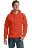 Pullover Hooded Sweatshirt Orange Thumbnail