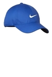 Nike Golf Dri-fit Swoosh Front Cap Game Royal with White Thumbnail