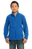 Youth Value Fleece Jacket True Royal Thumbnail