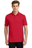 Sport-Tek Contrast PosiCharge Tough Polo Deep Red with Black Thumbnail