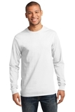 Tall Long Sleeve Essential T White Thumbnail