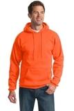 Pullover Hooded Sweatshirt Safety Orange Thumbnail