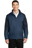 Endeavor Jacket Insignia Blue with Navy Thumbnail