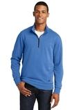 New Era Tri-Blend Fleece 1/4-Zip Pullover Royal Heather Thumbnail
