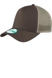Era Snapback Trucker Cap Chocolate with Khaki Thumbnail
