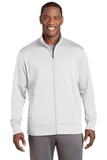 Sport-Wick Fleece Full-Zip Jacket White Thumbnail