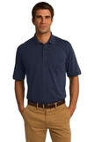 Jersey Knit Pocket Polo 5.5-ounce Deep Navy Thumbnail