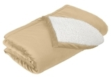 Mountain Lodge Blanket Soft Camel Thumbnail