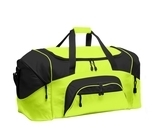 Colorblock Sport Duffel Safety Yellow with Black Thumbnail