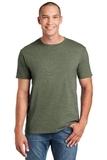 Softstyle Ring Spun Cotton T-shirt Heather Military Green Thumbnail