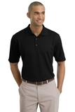 Nike Golf Shirt Dri-FIT Textured Polo Black Thumbnail