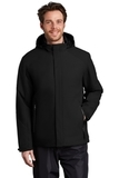 Insulated Waterproof Tech Jacket Deep Black Thumbnail