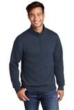 Core Fleece 1/4-Zip Pullover Sweatshirt Navy Thumbnail