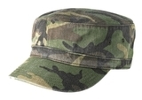 Distressed Military Hat Military Camo Thumbnail