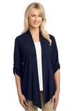 Women's Concept Shrug Dress Blue Navy Thumbnail