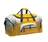 Colorblock Sport Duffel Gold with Grey Thumbnail
