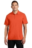 Micropique Performance Polo Shirt Deep Orange Thumbnail