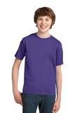 Youth Essential T-shirt Purple Thumbnail