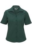 Women's Easy Care Poplin Shirt SS Hunter Thumbnail