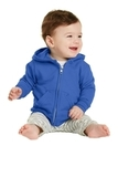Infant Full-zip Hooded Sweatshirt Royal Thumbnail