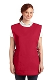 Easy Care Cobbler Apron With Stain Release Red Thumbnail
