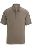 Edwards Men's Tactical Snag-proof Short Sleeve Polo Silver Tan Thumbnail