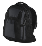 Urban Backpack Black with Magnet Grey and Black Thumbnail