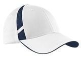 Dry Zone Mesh Inset Cap White with True Navy Thumbnail